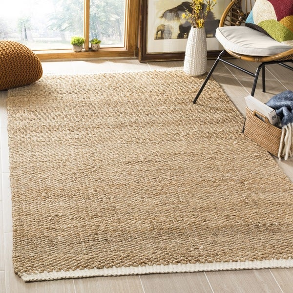 Safavieh Casual Natural Fiber Hand Woven Ivory Natural