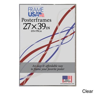 Hardboard Posterframe 27-inch x 39-inch Picture Frame (Option: Clear)