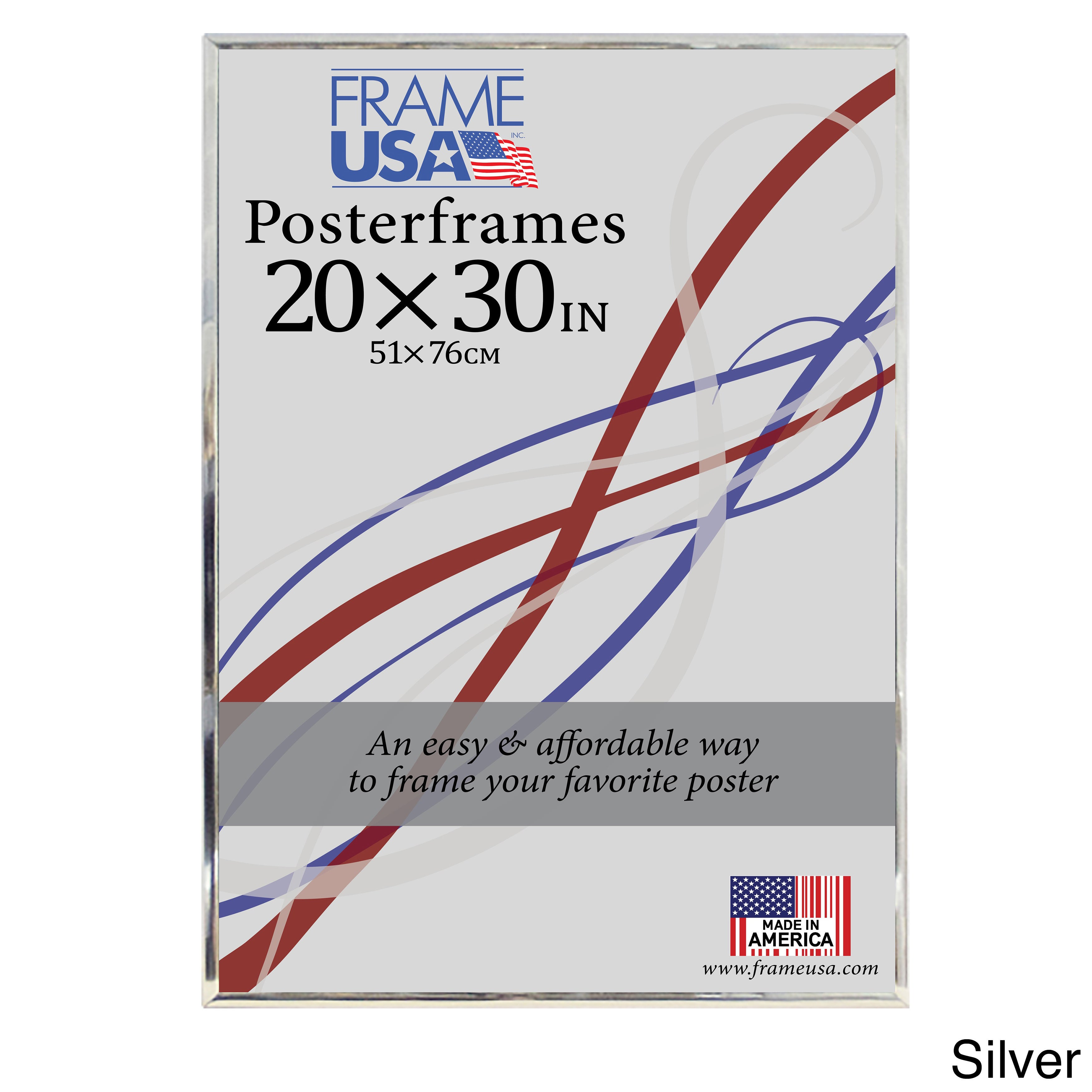 Hardboard poster frame 20 x 30 inch image size silver 20x30 ebay picture 6 of 10 jeuxipadfo Gallery