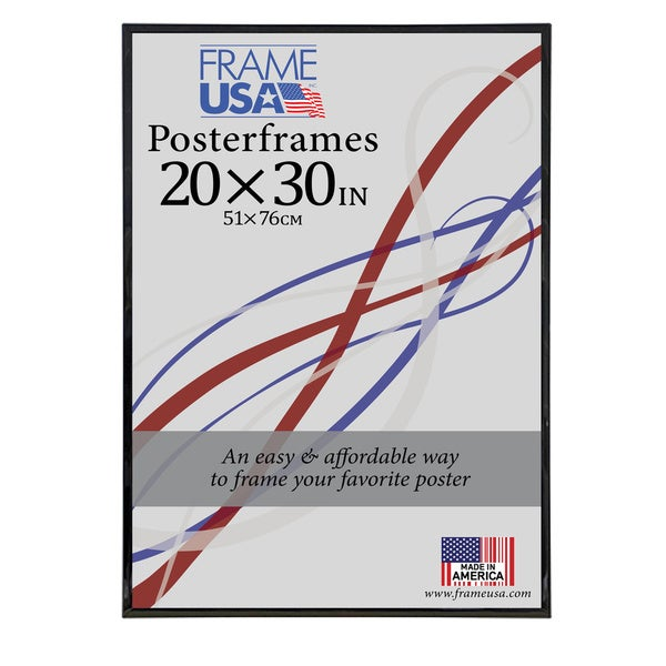 Hardboard Poster Frame (20 x 30-inch Image Size)