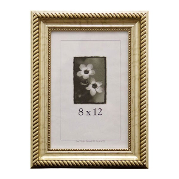 shop napoleon picture frame 8 x 12 inch image size free shipping on orders over 45. Black Bedroom Furniture Sets. Home Design Ideas