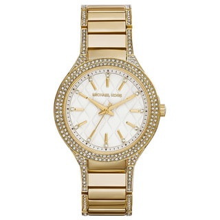 Link to Michael Kors Women's MK3347 Goldtone Stainless Steel Quartz Watch Similar Items in Women's Watches