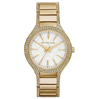 Michael Kors Women's MK3347 Goldtone Stainless Steel Quartz Watch