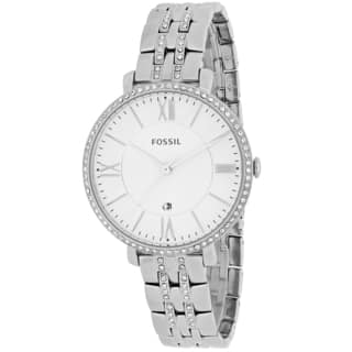 Fossil Women's Jacqueline ES3545 Stainless Steel Quartz Watch https://ak1.ostkcdn.com/images/products/9954591/P17108354.jpg?impolicy=medium