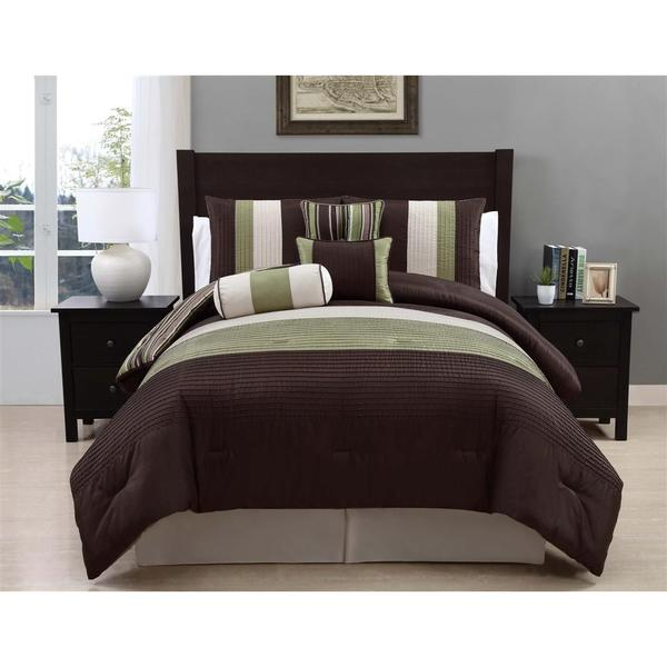 VCNY Regal 8-piece Full Comforter Set