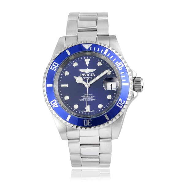 81cceb0f8 Shop Invicta Men's 9094OB 'Pro Diver' Automatic Stainless Steel ...
