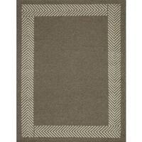 Momeni Mesa Natural Hand-Woven Wool Reversible Rug (9' X 12')