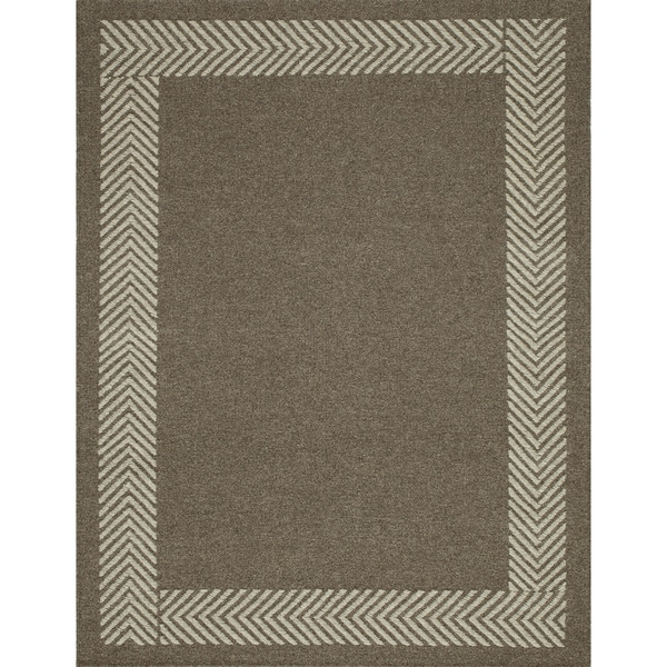 Momeni Mesa Natural Hand-Woven Wool Reversible Rug (9' X 12')