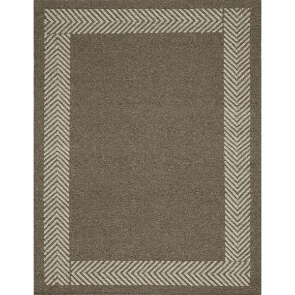Momeni Mesa Natural Hand-Woven Wool Reversible Rug (9' X 12') - 9' x 12'