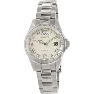 Invicta Women's 14790 Pro Diver Stainless Steel Swiss Quartz Watch|https://ak1.ostkcdn.com/images/products/9954734/P17108687.jpg?impolicy=medium