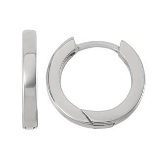 Sterling Silver Skinny and Small Hoop Earrings