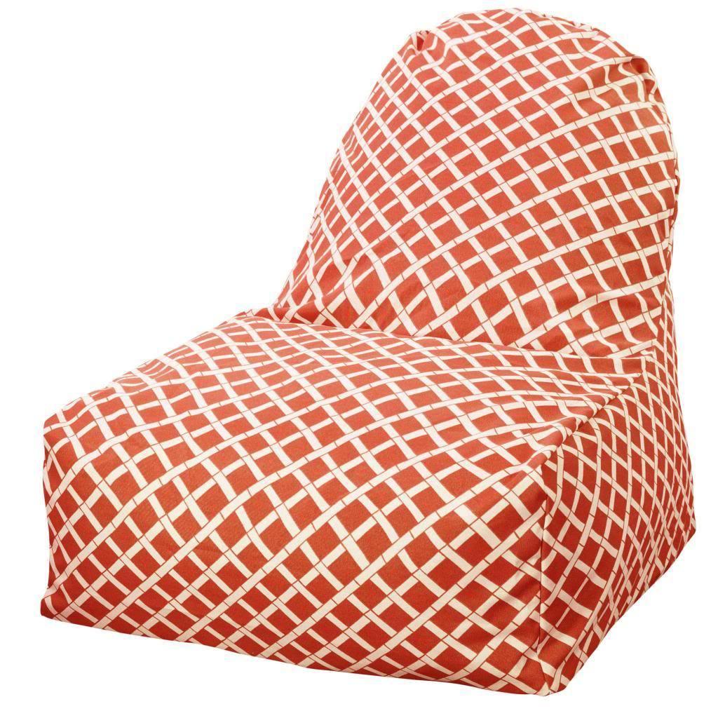 Majestic Home Outdoor Indoor Bamboo Kick-It Chair (Burnt ...