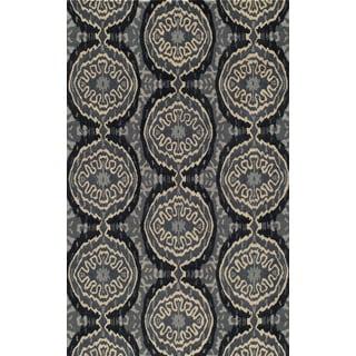 Global Bria Hand-tufted Wool Area Rug (8' x 10')