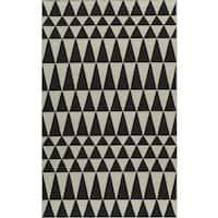 Momeni Laguna Hand-Woven Wool Rug (8' x 10') - 8' x 10'