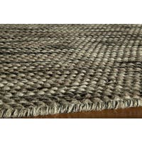 Momeni Mesa Natural Hand-Woven Wool Reversible Rug (8' X 10')