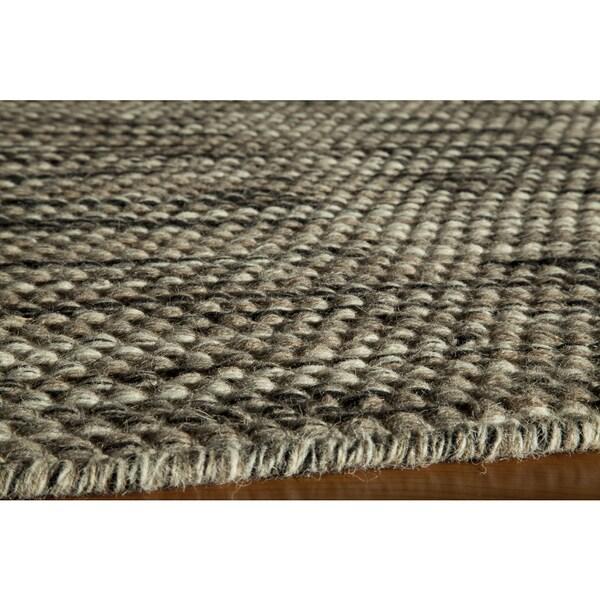 Momeni Mesa Natural Hand-Woven Wool Reversible Rug (8' X 10') - 8' x 10'