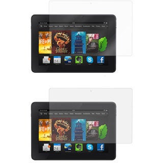 rooCASE 2 Anti-glare and 2 HD Clear Screen Protectors for Amazon Kindle Fire HDX 7