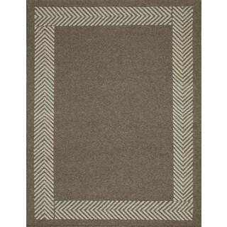 Momeni Mesa Natural Hand-Woven Wool Reversible Rug (8' X 10')