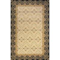 Momeni Persian Garden Charcoal NZ Wool Rug - 8' X 10'