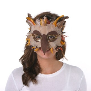 Feather Owl Mask