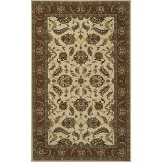Royal Persian Floral Hand-finished New Zealand Wool Rug (8' x 10')
