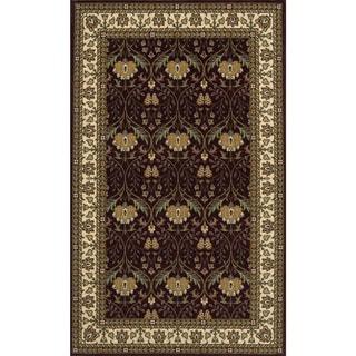 Momeni Persian Garden Burgundy NZ Wool Rug (8' X 10')