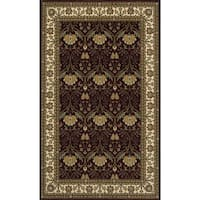 Momeni Persian Garden Burgundy NZ Wool Rug (8' X 10') - 8' x 10'