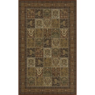 Royal Persian Panel Hand-finished New Zealand Wool Rug (8' x 10')