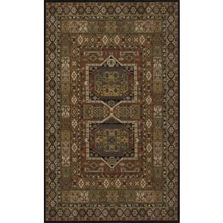 Royal Persian Geometric Hand Finished New Zealand Wool Rug (8' x 10')