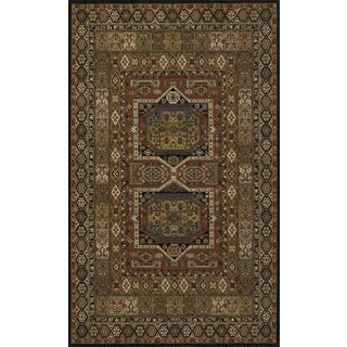 Momeni Persian Garden Black NZ Wool Rug - 8' X 10'
