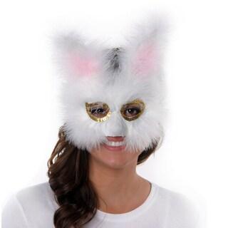 Feather Bunny Mask