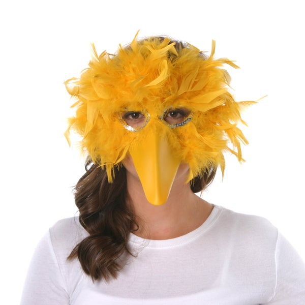 how to make a bird mask at home