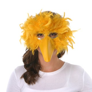 Feather Big Bird Mask