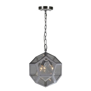 Ren Wil Renwil Pennant 3-light Chrome Ceiling Fixture