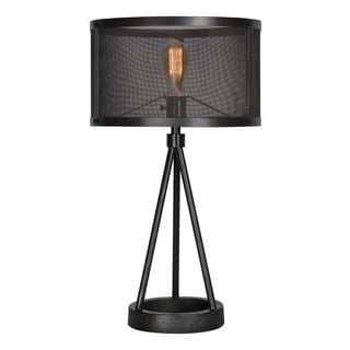 Ren Wil Renwil Livingstone 1-light Black Table Lamp