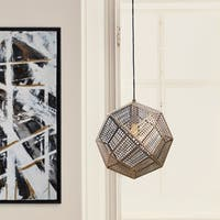 Ren Wil Renwil Skars 1-light Gold Ceiling Fixture