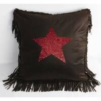 HiEnd Accents 18-inch Cheyenne Star Pillow