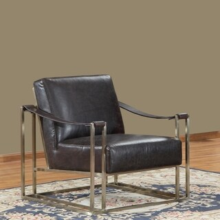 Dorset Gold Sling Leather Chair By Lazzaro Leather