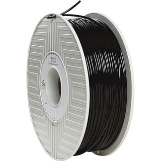 Verbatim PLA 3D Filament 3mm 1kg Reel - Black - TAA Compliant