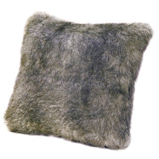 18-inch Faux Fur Chinchilla Pillow