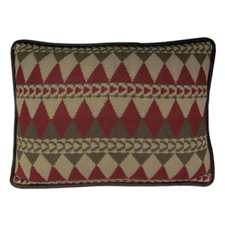 Knitted Southwestern Throw Pillow