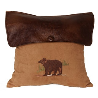 18-inch Lodge Bear Pillow