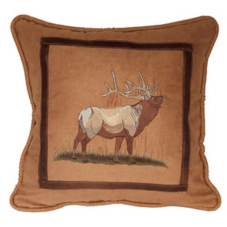 18-inch Lodge Elk Pillow