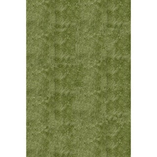Momeni Luster Shag Apple Green Hand-Tufted Shag Rug (9' X 12')