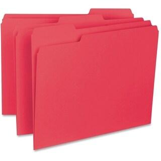 Sparco 1/3-cut Internal File Folders