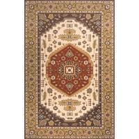 Momeni Persian Garden Cocoa NZ Wool Rug (9'6 X 13') - 9'6 x 13'