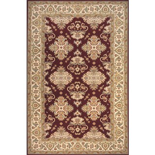 Momeni Persian Garden Burgundy NZ Wool Rug (9'6 X 13')