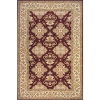 Momeni Persian Garden Burgundy NZ Wool Rug (9'6 X 13') - 9'6 x 13'