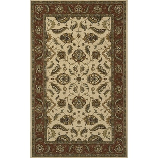 """Royal Persian Floral Hand Finished New Zealand Wool Rug (9'6"""" X 13')"""