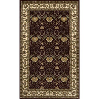 Momeni Persian Garden Burgundy NZ Wool Rug (9'6 X 13')
